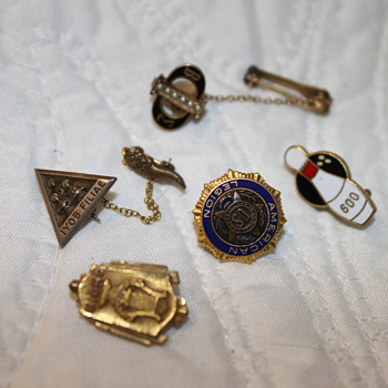 Various Pins - Medals Pins and Badges