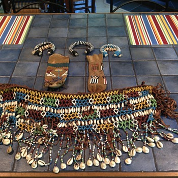 These items were found by my father in late 40s in a hut on the beach in northwest  - Native American