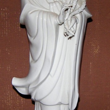Chinese Quan Yin Porcelain - Asian