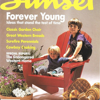Our kids on the cover of Sunset - Paper