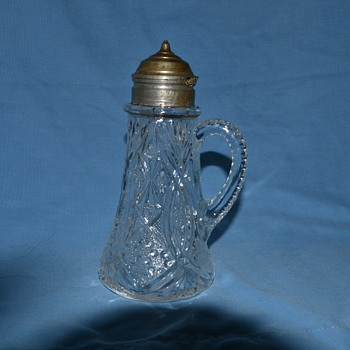 syrup pitcher - Glassware