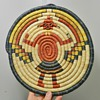 1970&#039;s Hopi Woven Plaque - Kachina Motif