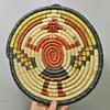 1970's Hopi Woven Plaque - Kachina Motif