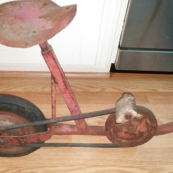 Early century Belt Drive Bike