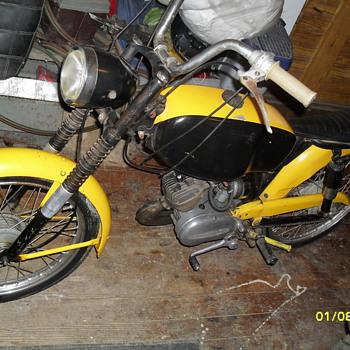 1966 harley davidson m50