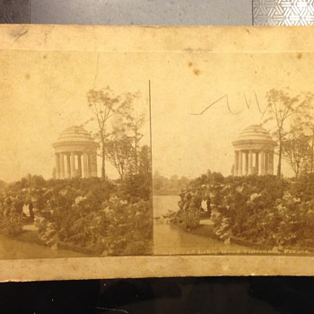 The New York View Co. Stereo View Card