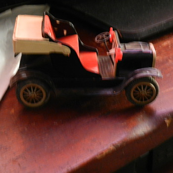 friction tin car made in japan - Model Cars