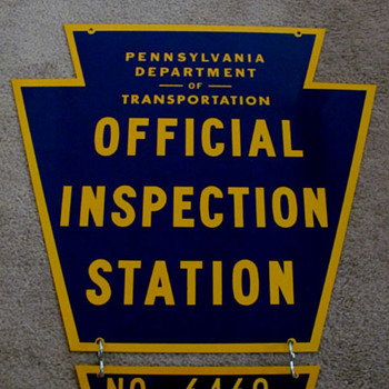 Inspection Sign - Signs
