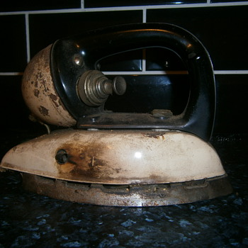 old kerosine iron