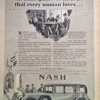 Nash Advertisement