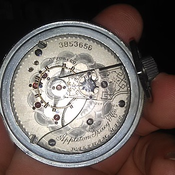 1889 Waltham pocket watch - Pocket Watches