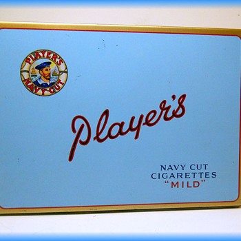 Players Tobacco Litho Tin - Canada - Tobacciana