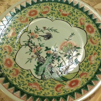 Can't find any info on this plate. Bought 1976 in Singapore. - Asian