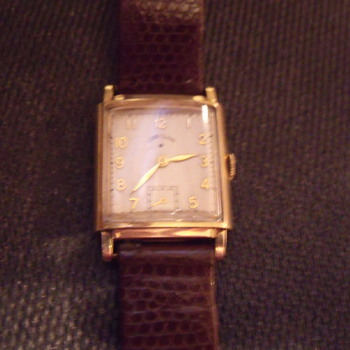 Lord Elgin 14k Gold Watch