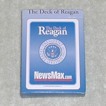 The Deck of Reagan Playing Cards - Cards