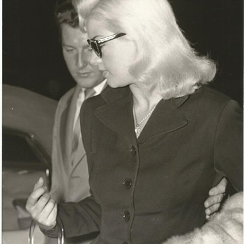 Press Photographs Diana Dors London 1950s