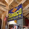 Sunoco Double Sided Porcelain Flange Sign...Three Colors