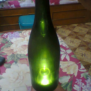 Antique wine Bottle from England 1813