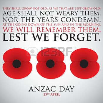 April 25th, Remembering Friends on ANZAC Day. - Military and Wartime