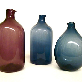 Timo Sarpaneva Bird Bottles by Iittala