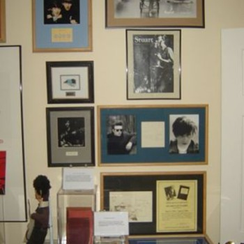 Stu Sutcliffe display...