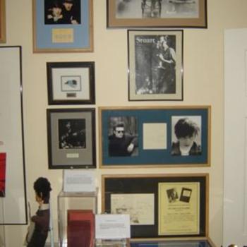 Stuart Sutcliffe memorabilia...