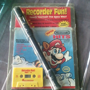 vintage nintendo collectors item - Music Memorabilia
