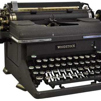 Woodstock typewriter - Office