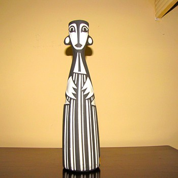 Rare Jaap Ravelli mid 1950s Male vase  - Pottery