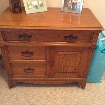 Late 1800's Sewing Chest? - Furniture