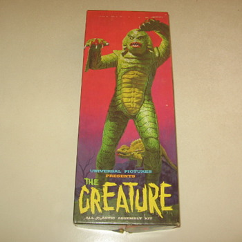 Aurora 1963 Monster Model Kit The Creature 