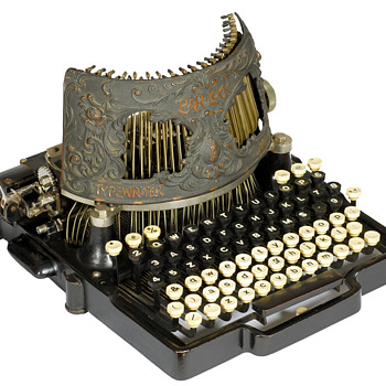 Bar-Lock typewriter - 1892 - Office