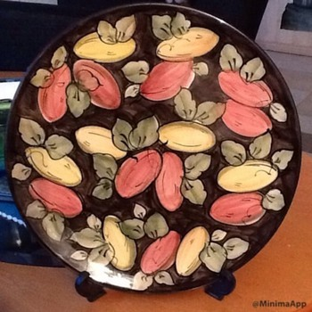 Ceramic plate - Art Pottery