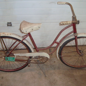 Sunshine Bicycle 1955 0r 1956   Massey Harris - Outdoor Sports