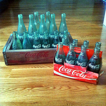 Coca-Cola 8-Pack and Wooden Crate - Coca-Cola