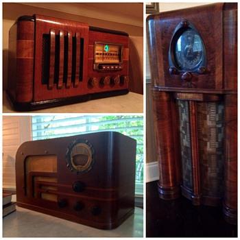 1930's Wood Radios - Radios