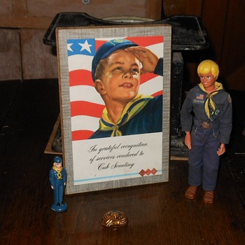 Boy Scout Cub Scout Appreciation Plaque