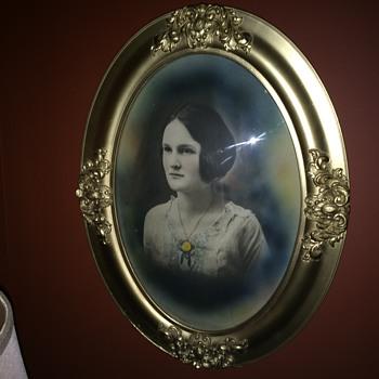 Restored family portraits 1920 - Visual Art