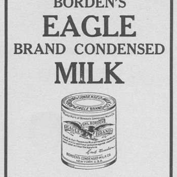 1909 Borden's Advertisement - Advertising