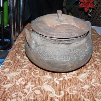 Rare Antique Signed Ouachita Pottery - Art Pottery