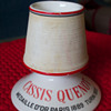 Vintage Cassis Quenot Match Striker and RCA Victor Ashtray Set