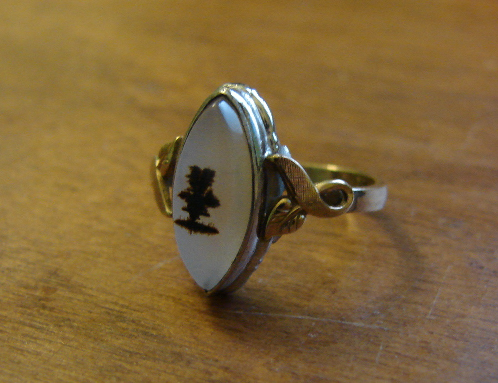 vintage or antique moonstone ring collectors weekly