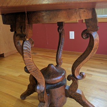 Unique carved table - What is it?