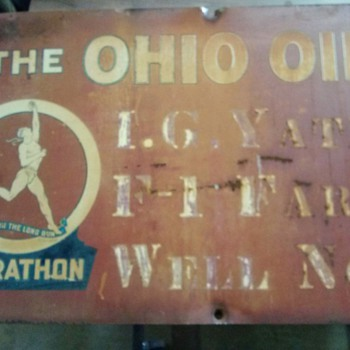 The Ohio Oil Co./Marathon  - Signs