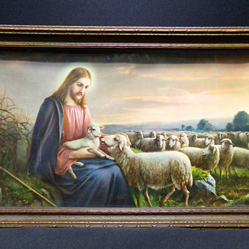 The Good Shepherd, by Josef Untersberger, C. 1940 - Visual Art