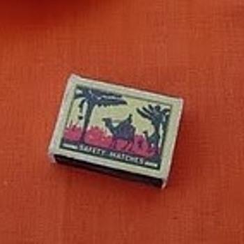 USSR matchbox