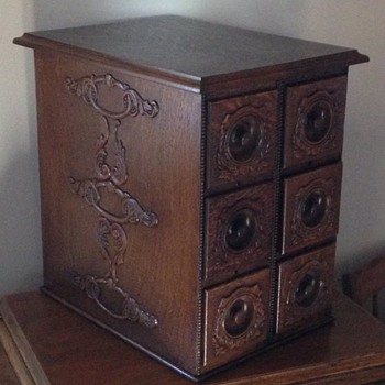 Repurposed Singer Sewing Machine Drawers - Sewing
