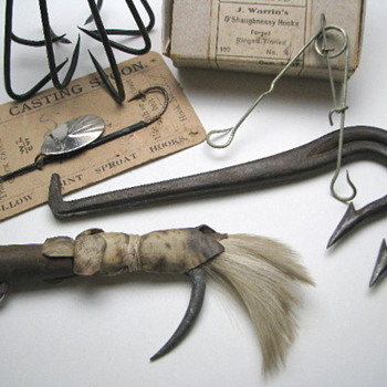 19th Century Fishing Tackle - Fishing