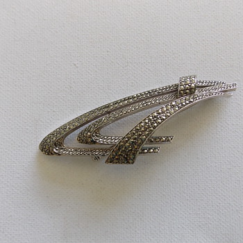 Sphinx Art Deco Brooch