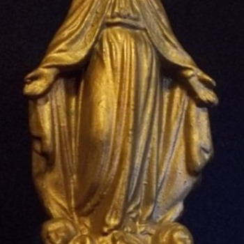 Religious Statue, Pin and Medallion - Medals Pins and Badges
